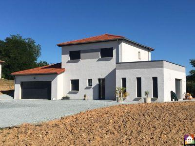 maison etage double garage