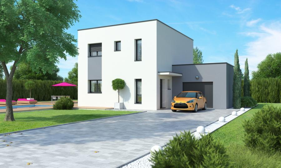 maison etage garage