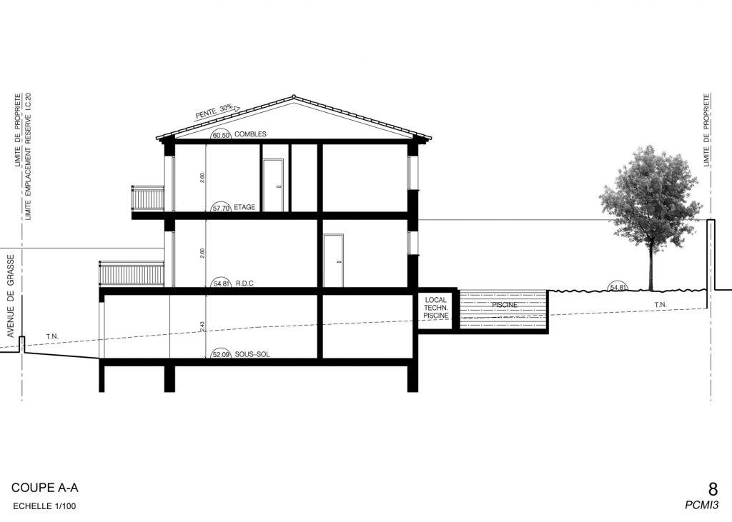 maison etage hauteur