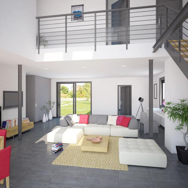 maison etage mezzanine