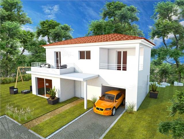 maison etage moins chere plain pied