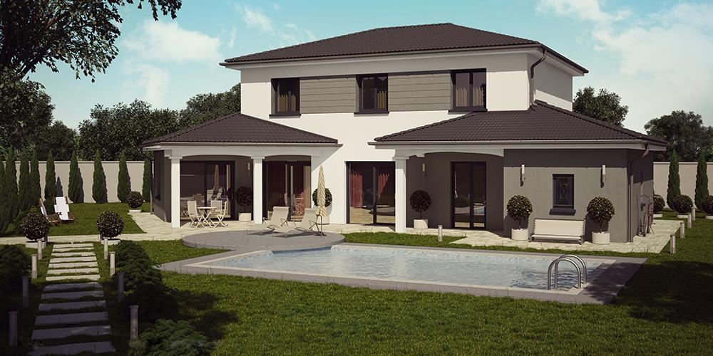 Maison Etage Moins Chere Plain Pied - Plan de maison a etage moderne
