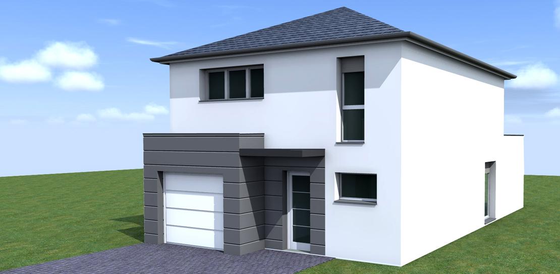 maison etage neuve