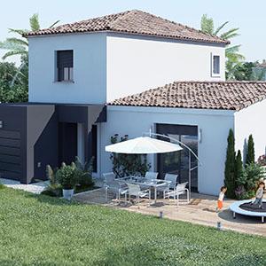 Maison etage partiel - Plan maison provencale a etage ...