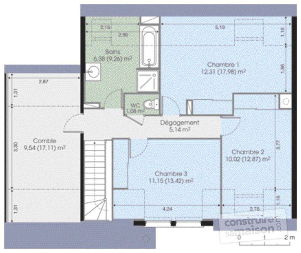 maison etage phenix