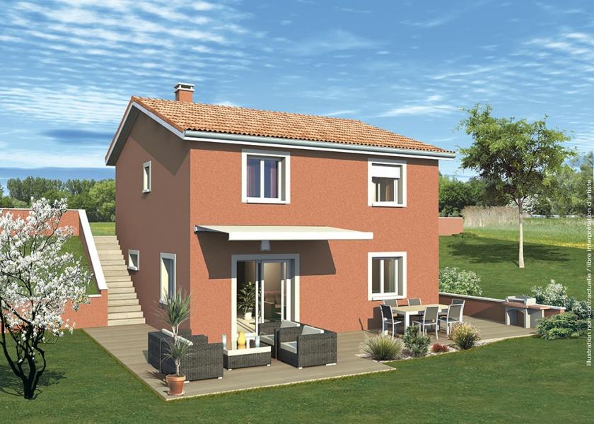 maison etage rectangulaire