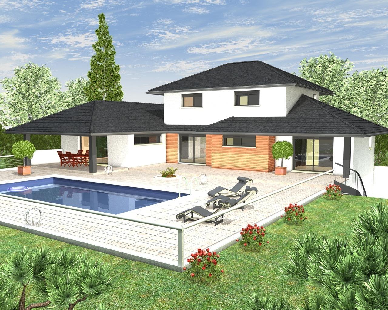 Maison etage sous sol - Plans de maisons modernes ...