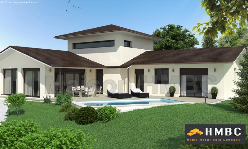 Maison Moderne Etage - Plan de maison a etage moderne