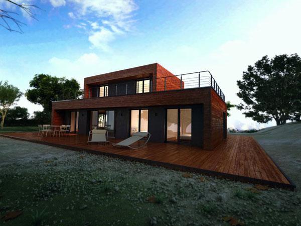 plan de maison 100 000 euros