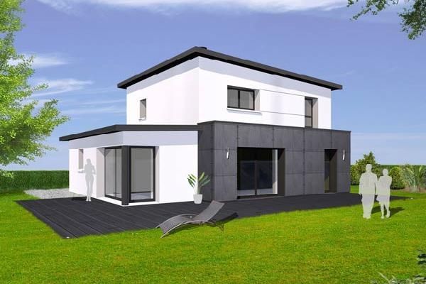 maison moderne 100m2