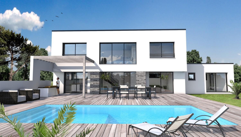maison moderne 10x6