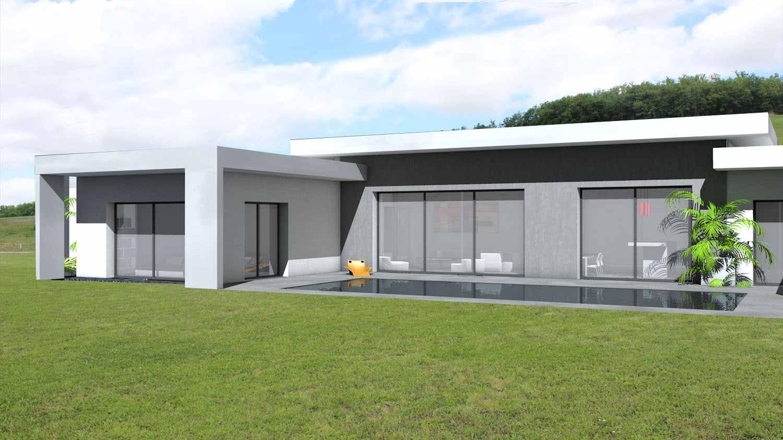 maison architecte 140m2