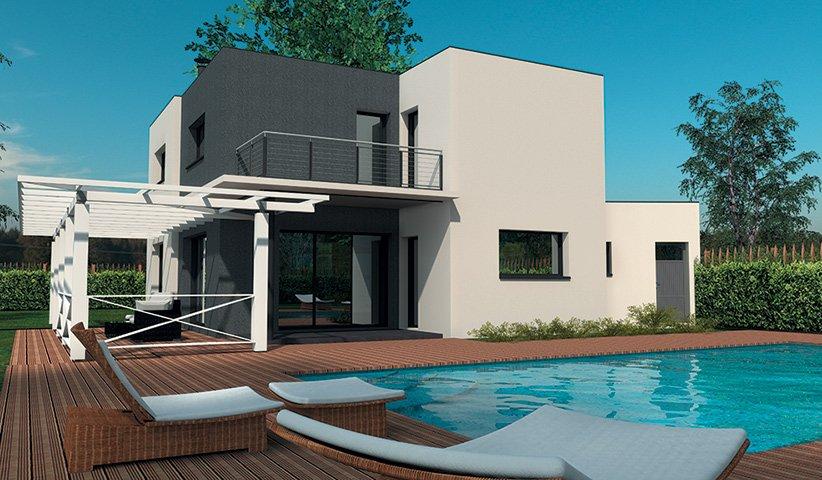 maison moderne 160m2