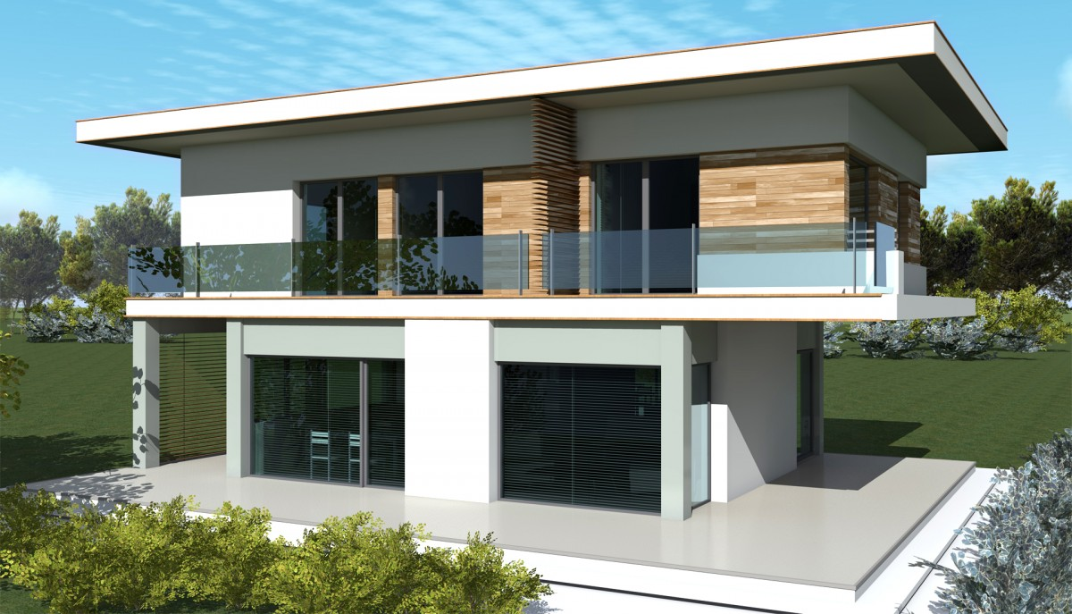 Maison moderne 160m2 for Maison moderne 160m2