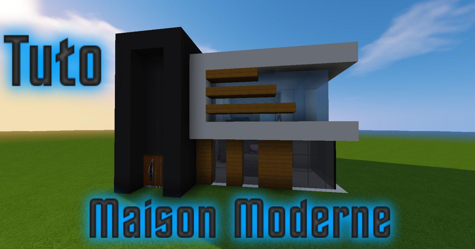maison moderne 16x16