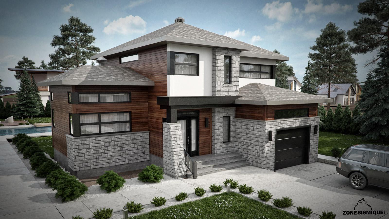 maison moderne cube. Black Bedroom Furniture Sets. Home Design Ideas
