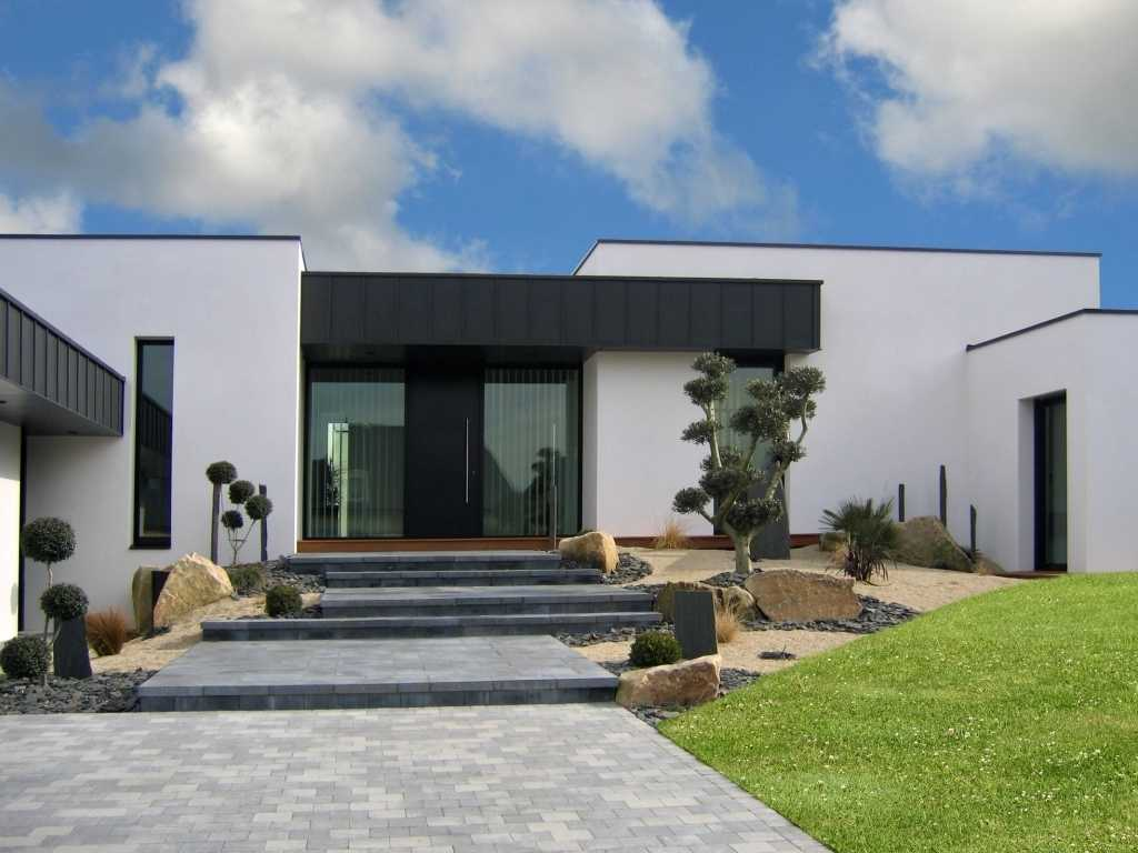 Maison moderne 2018 for Deco maison contemporaine design