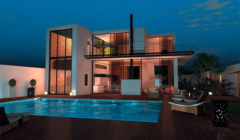 maison moderne 250m2