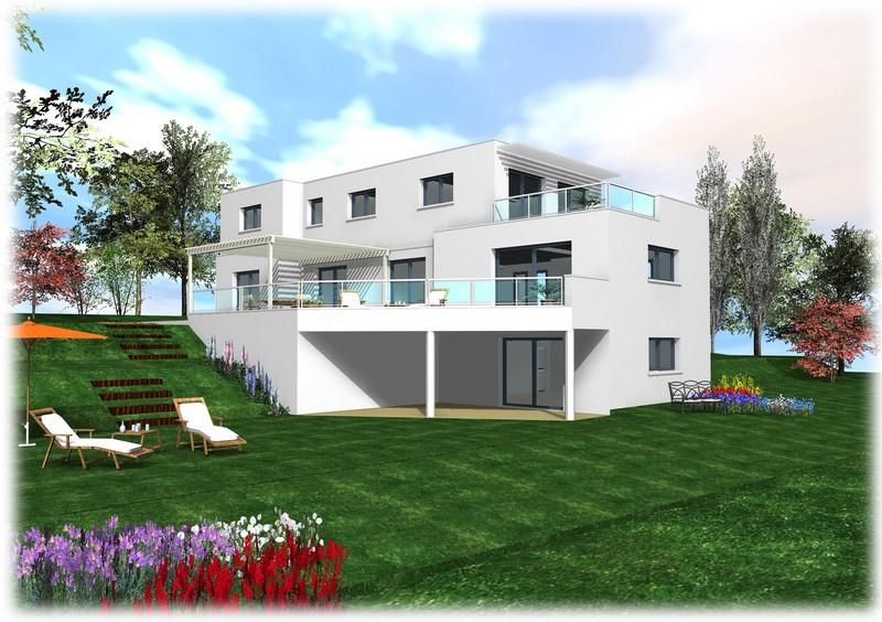 Maison moderne 3 etages for Maison a etage moderne