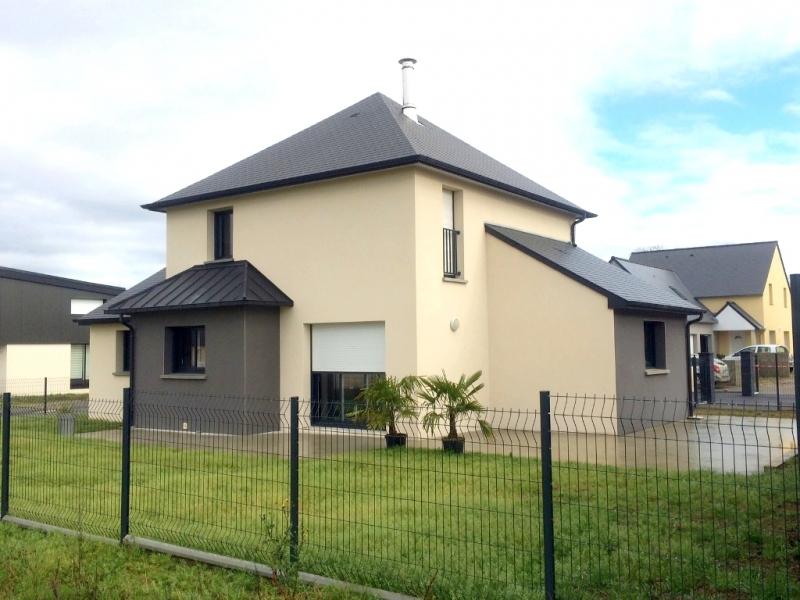 maison moderne 4 pans