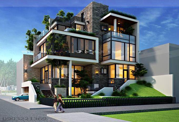 maison moderne 47