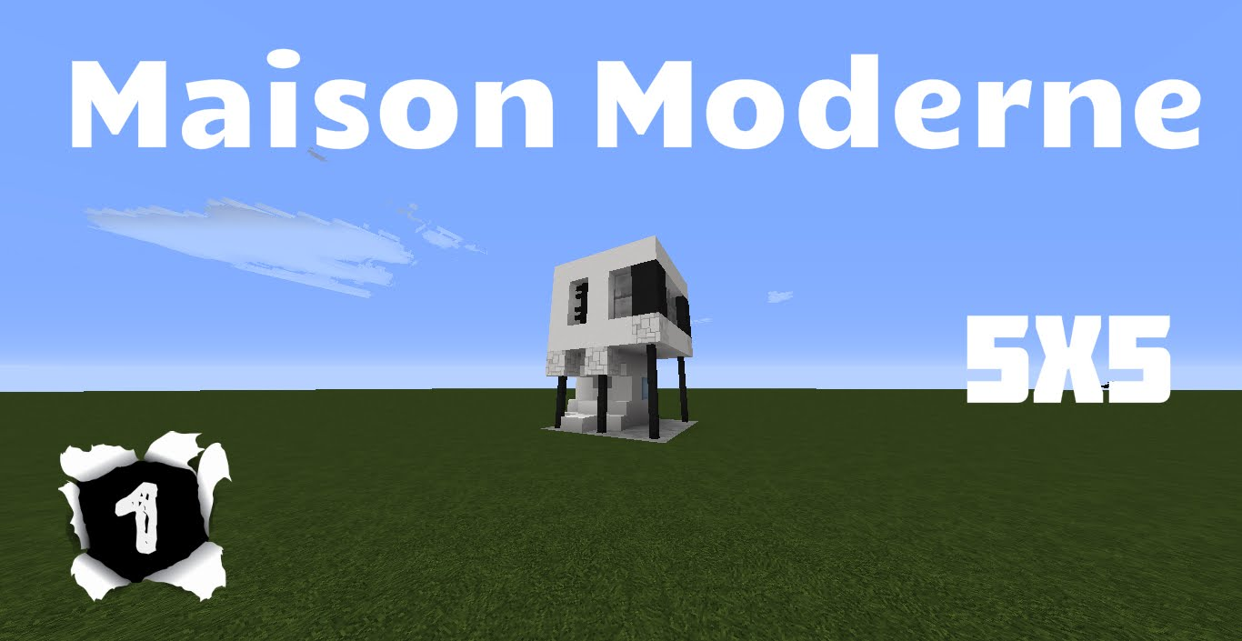 maison moderne 5x5