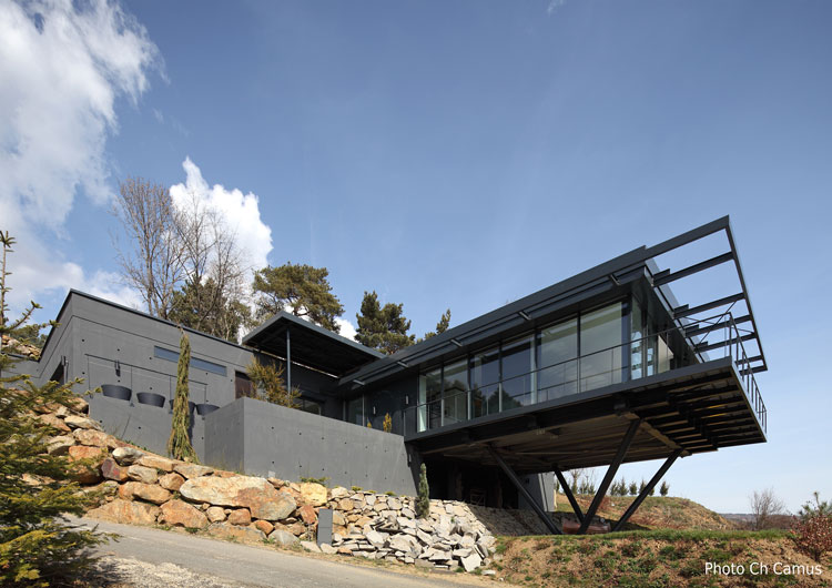 maison moderne 63