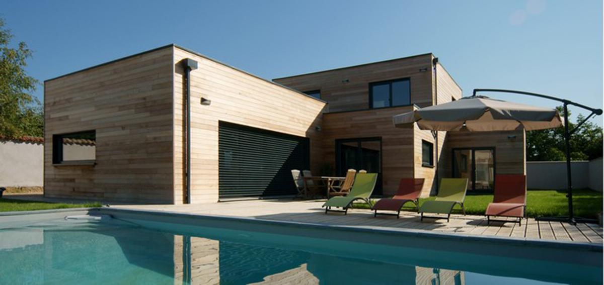 Stunning Maison Moderne En Bois Bbc Pictures - House Design ...