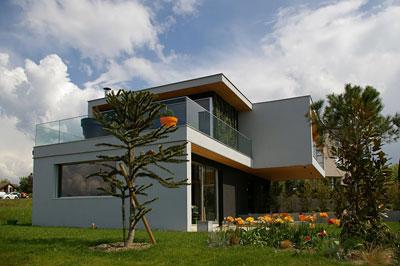 maison moderne 74