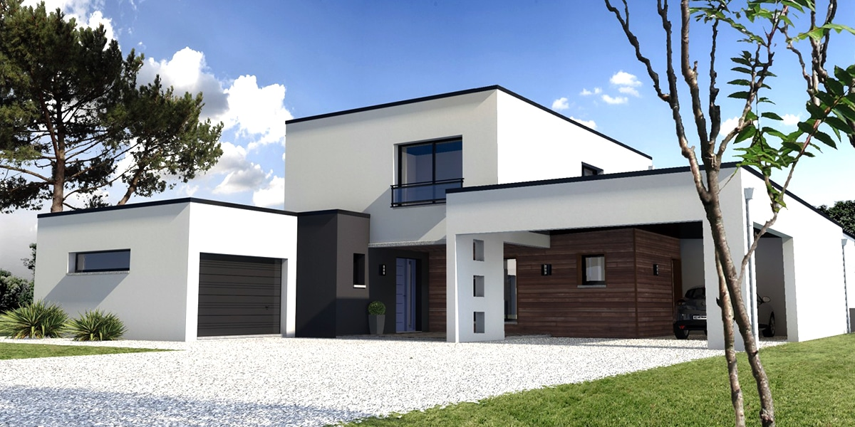 maison moderne 76