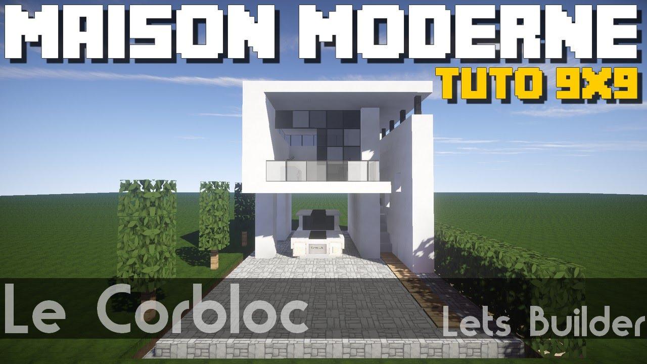 Maison moderne 7x7 for Tuto maison moderne nox x