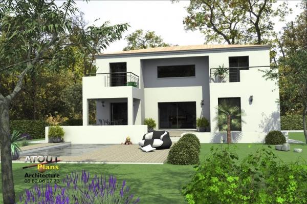 maison moderne 84