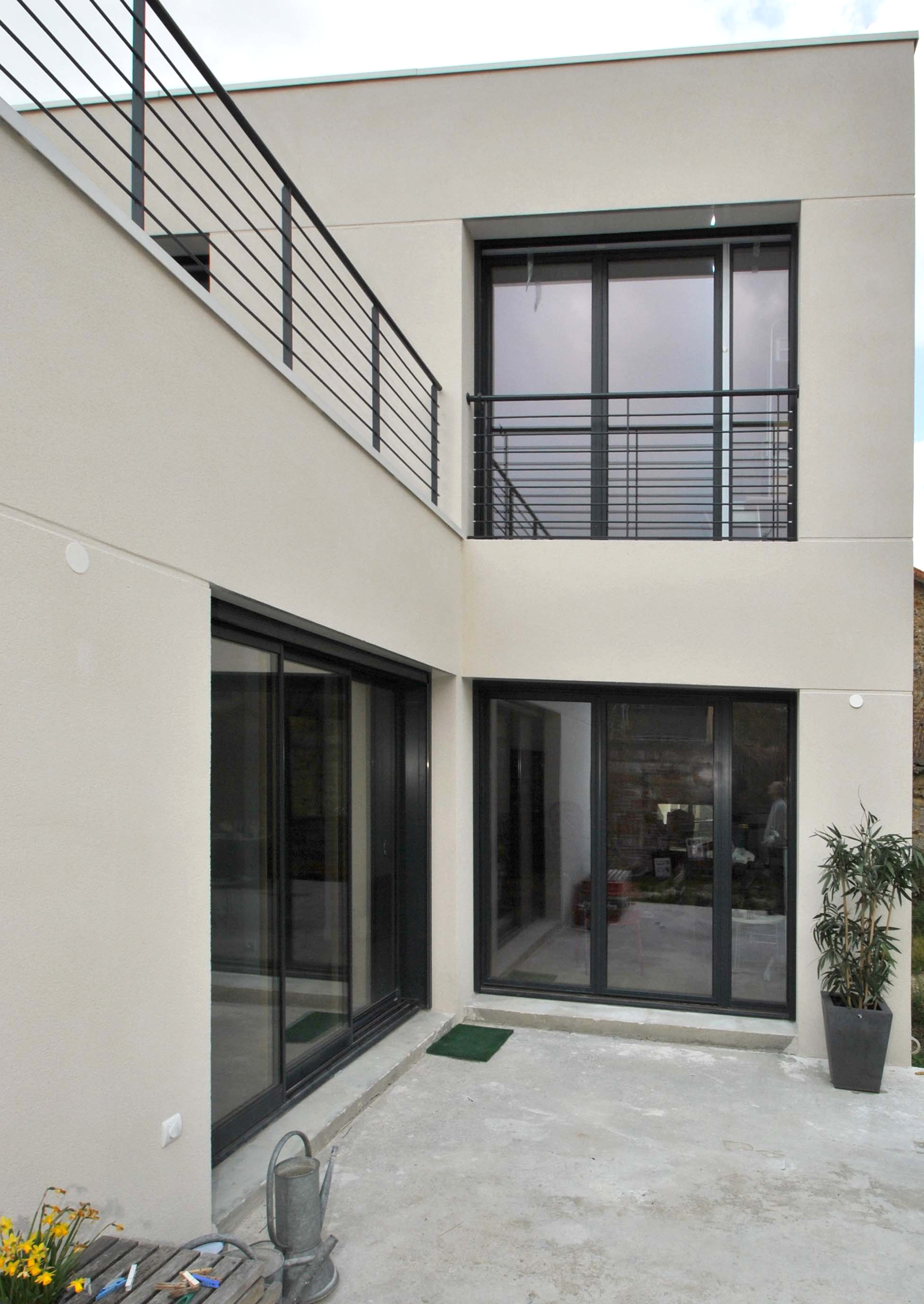 maison moderne 92