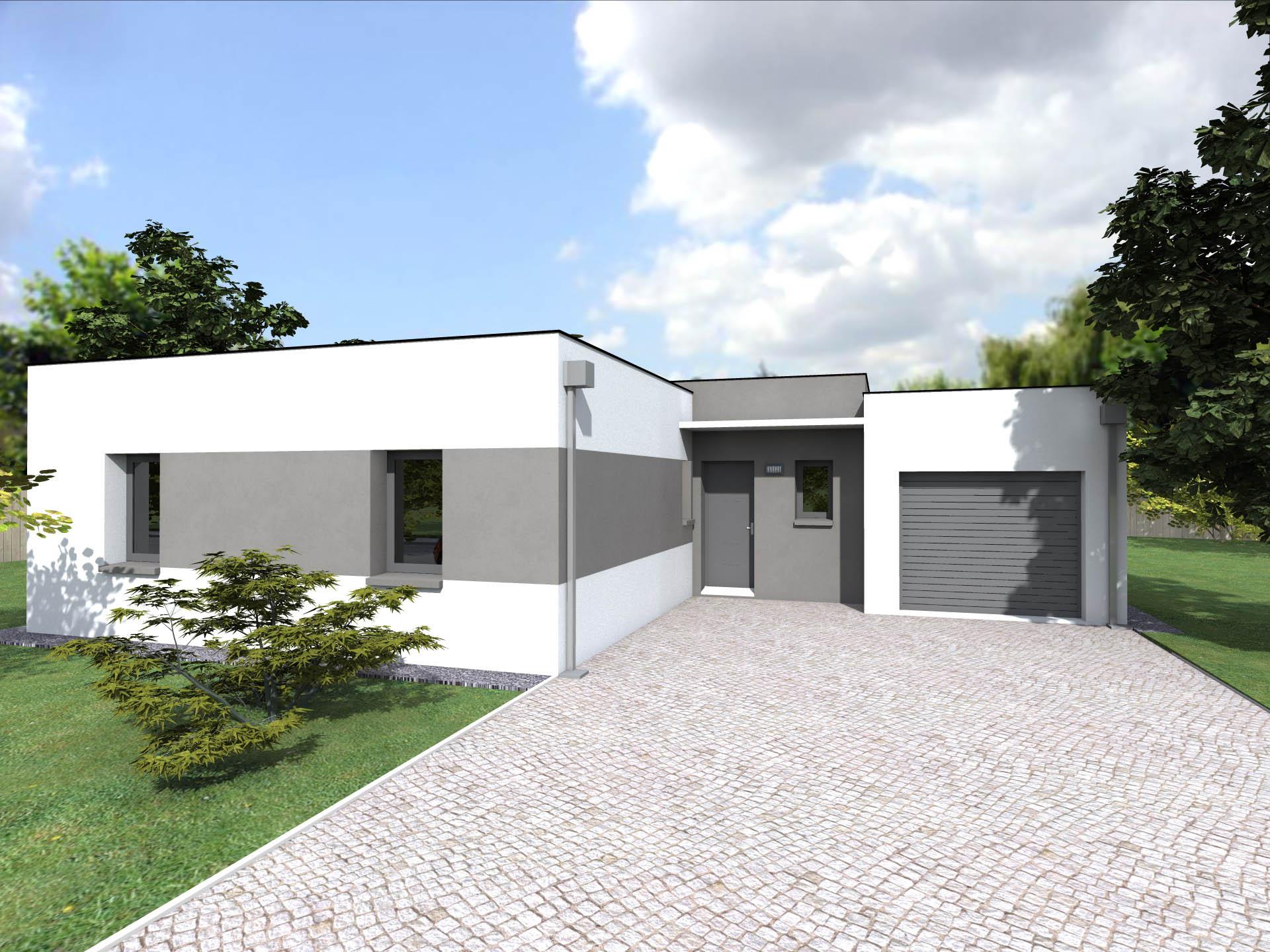 maison moderne 93