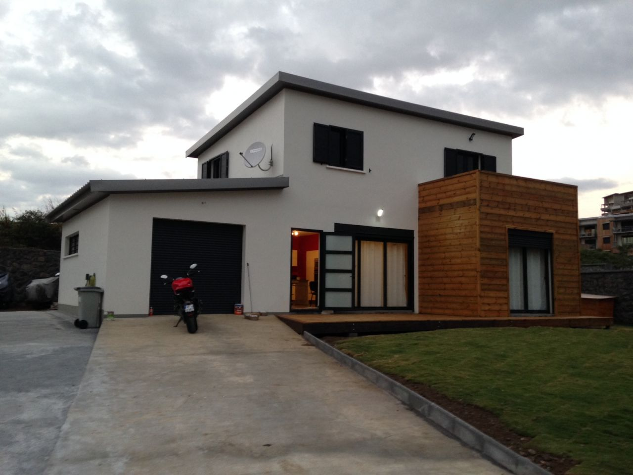 maison moderne 974