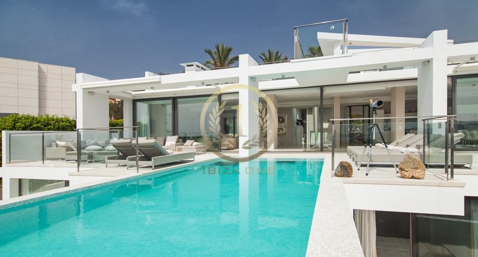 Maison moderne a louer for Maison luxe ibiza