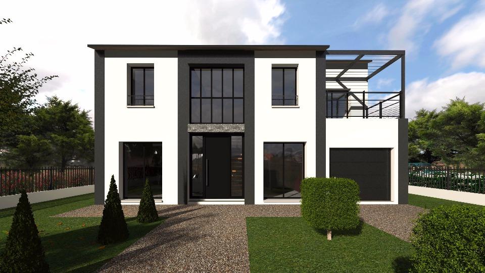 maison moderne a vendre 77. Black Bedroom Furniture Sets. Home Design Ideas