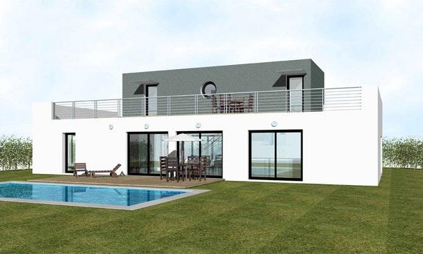 maison moderne a vendre 95