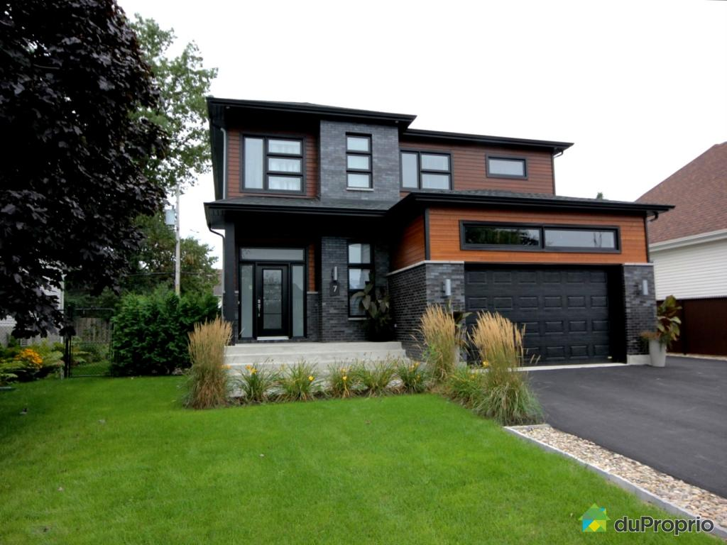 maison moderne a vendre blainville