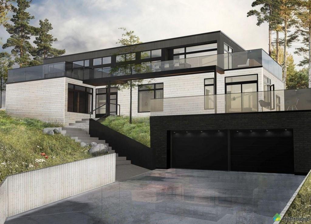 maison moderne a vendre quebec