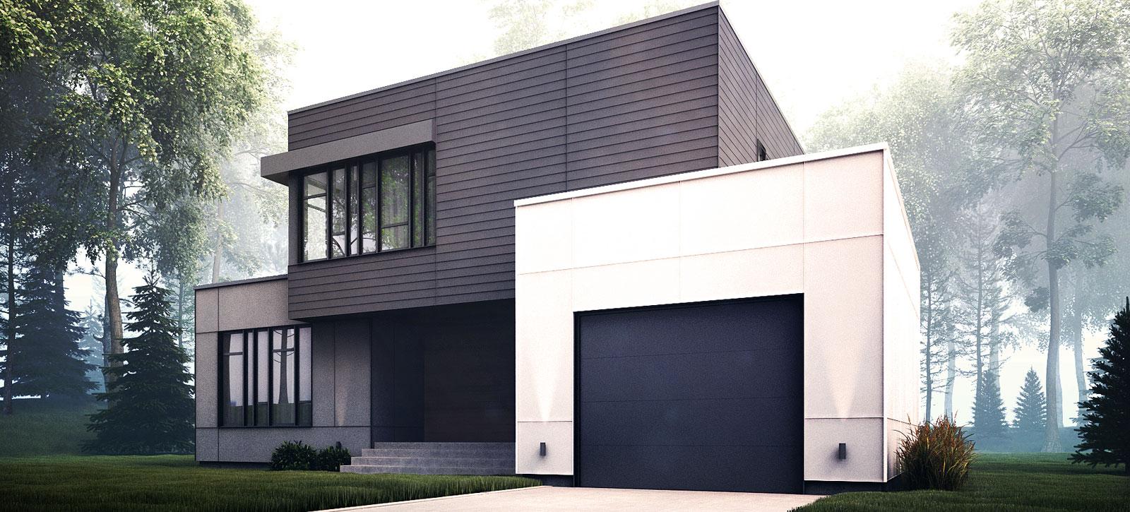 maison moderne rive sud