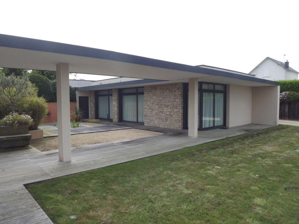 Maison Moderne Pierre : Maison moderne avec pierre