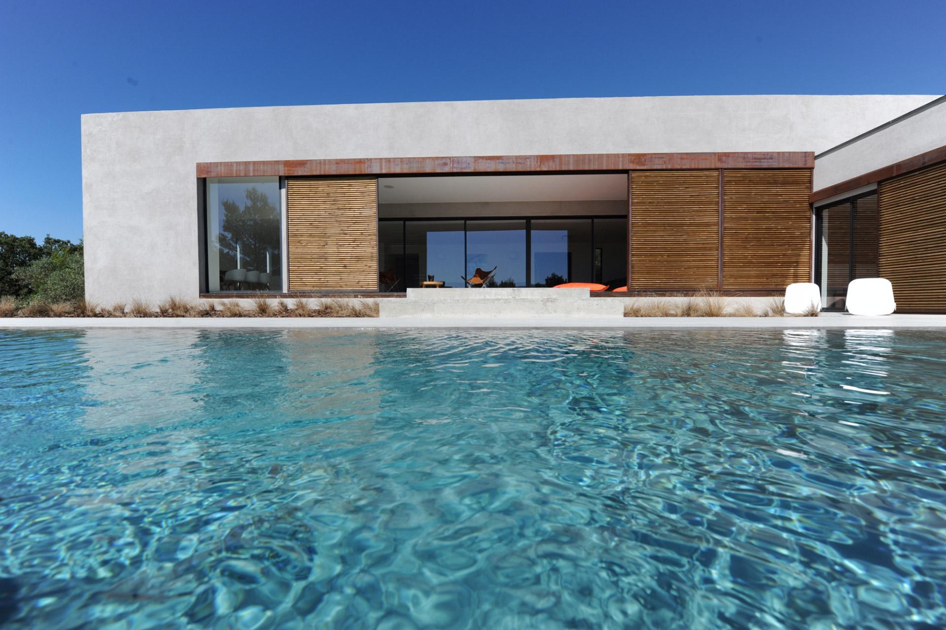 Maison moderne avec piscine a vendre - Piscine moderne ...