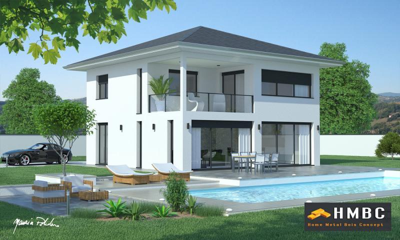maison moderne avec toit