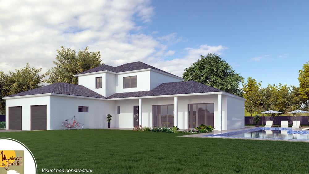 Maison moderne avec tour - Plan maison avec tour carree ...