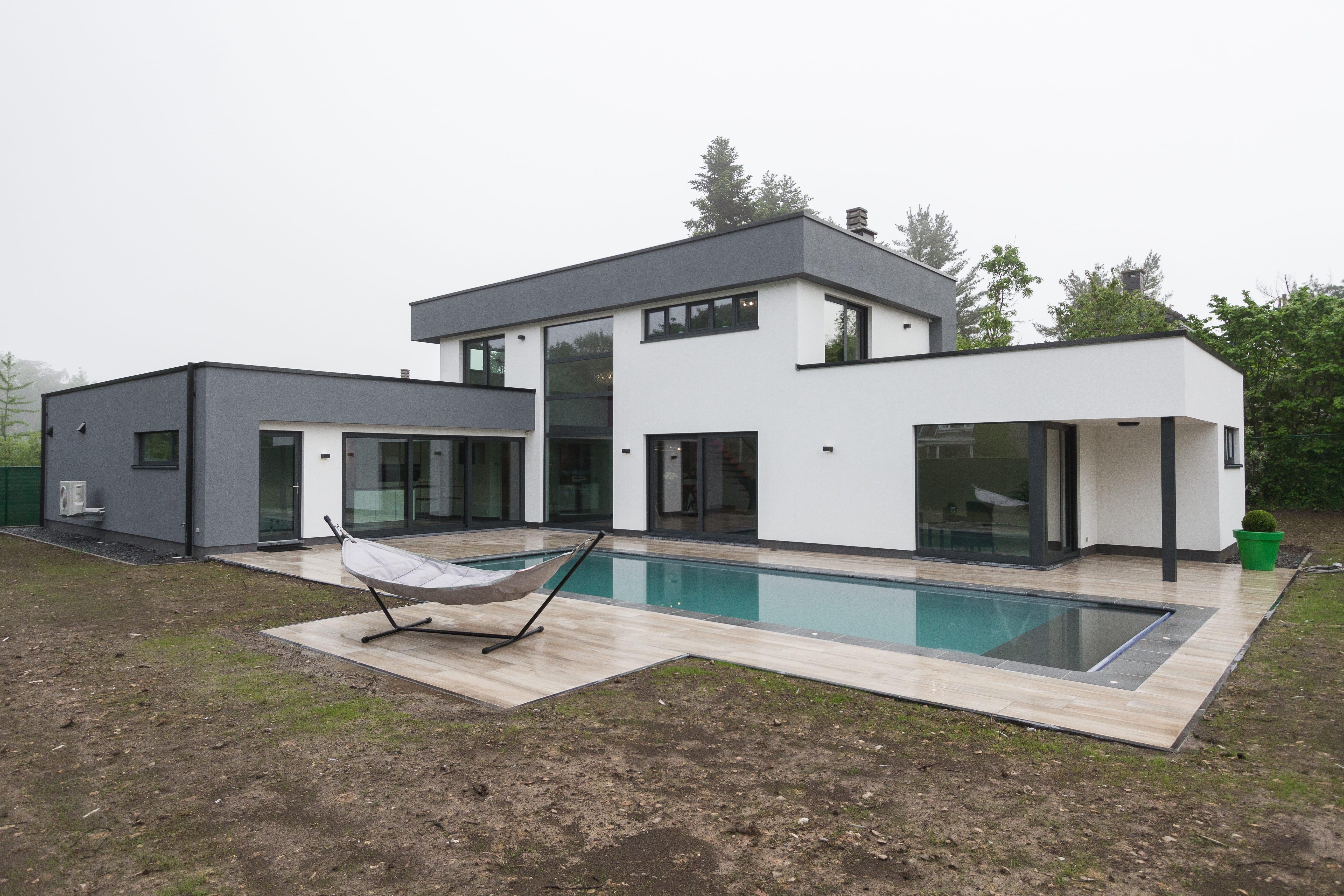 maison moderne belgique
