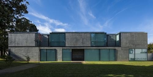 maison moderne beton