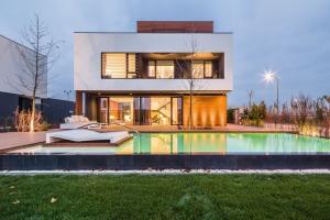 maison moderne bioclimatique