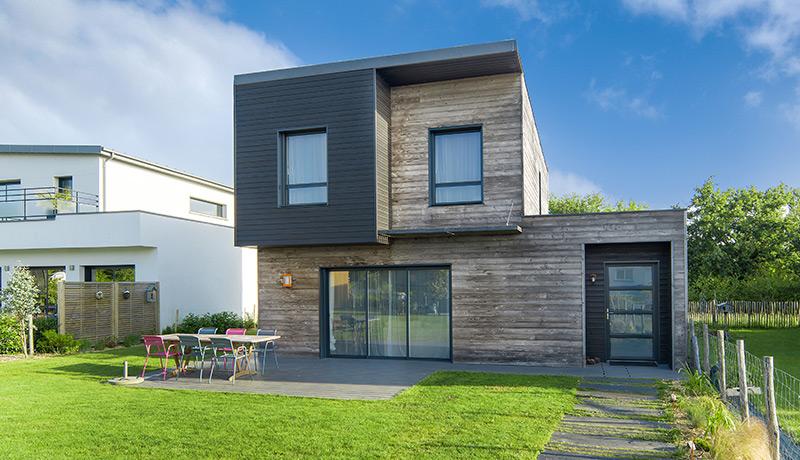 Maison moderne bois for Maison moderne 160m2