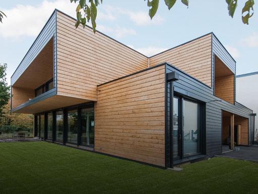Emejing maison moderne en bois en kit pictures design trends 2017